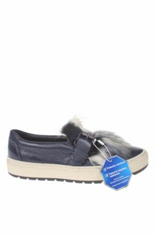Dámské boty  Geox, Velikost 35, Barva Modrá, Pravá kůže, textile , Cena  571,00Kč