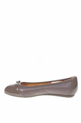 Γυναικεία παπούτσια Geox, Μέγεθος 36, Χρώμα Γκρί, Γνήσιο δέρμα, δερματίνη, Τιμή 28,22€