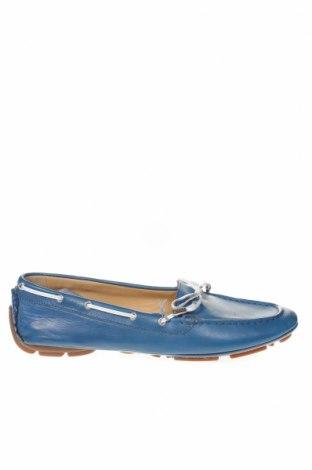 Γυναικεία παπούτσια Geox, Μέγεθος 39, Χρώμα Μπλέ, Γνήσιο δέρμα, Τιμή 27,28€