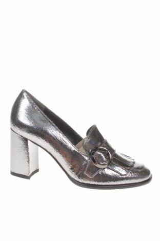 Γυναικεία παπούτσια Hogl, Μέγεθος 37, Χρώμα Γκρί, Γνήσιο δέρμα, Τιμή 66,76€