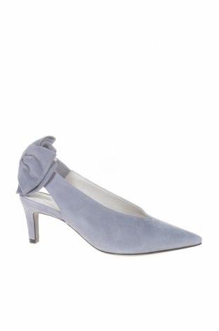 Γυναικεία παπούτσια Kennel & Schmenger, Μέγεθος 36, Χρώμα Μπλέ, Φυσικό σουέτ, Τιμή 33,38€