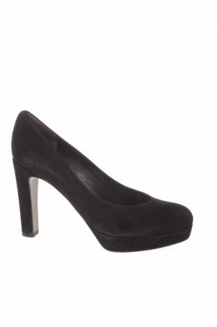 Γυναικεία παπούτσια Kennel & Schmenger, Μέγεθος 38, Χρώμα Μαύρο, Φυσικό σουέτ, Τιμή 36,96€