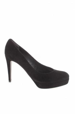 Γυναικεία παπούτσια Kennel & Schmenger, Μέγεθος 40, Χρώμα Μαύρο, Φυσικό σουέτ, Τιμή 28,34€