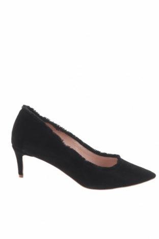 Γυναικεία παπούτσια L37, Μέγεθος 40, Χρώμα Μαύρο, Φυσικό σουέτ, Τιμή 23,27€
