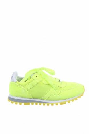Γυναικεία παπούτσια Liu Jo, Μέγεθος 36, Χρώμα Πράσινο, Φυσικό σουέτ, κλωστοϋφαντουργικά προϊόντα, Τιμή 50,82€