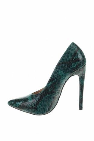 Дамски обувки Lost Ink, Размер 37, Цвят Зелен, Еко кожа, Цена 37,41лв.