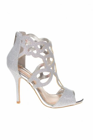 Дамски обувки Miss KG, Размер 37, Цвят Сребрист, Текстил, Цена 45,82лв.