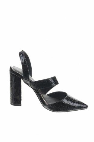 Γυναικεία παπούτσια River Island, Μέγεθος 35, Χρώμα Μαύρο, Δερματίνη, Τιμή 19,92€