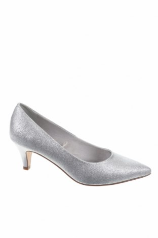 Γυναικεία παπούτσια Tamaris, Μέγεθος 36, Χρώμα Ασημί, Κλωστοϋφαντουργικά προϊόντα, Τιμή 15,47€