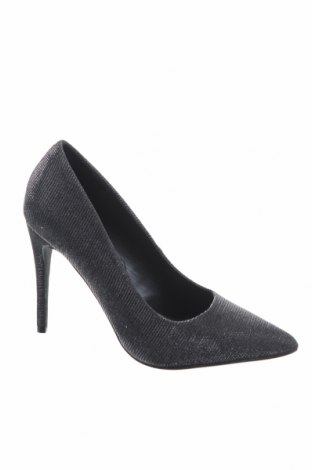Дамски обувки Tata, Размер 37, Цвят Сив, Текстил, Цена 33,12лв.