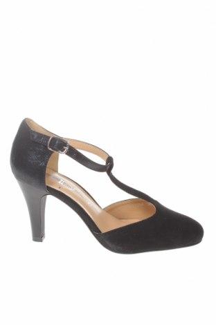 Γυναικεία παπούτσια The Divine Factory, Μέγεθος 36, Χρώμα Μαύρο, Κλωστοϋφαντουργικά προϊόντα, Τιμή 11,74€