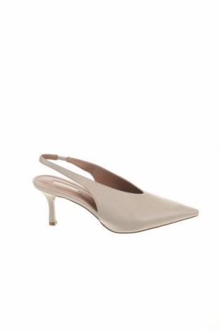 Дамски обувки Topshop, Размер 41, Цвят Бежов, Еко кожа, Цена 59,25лв.