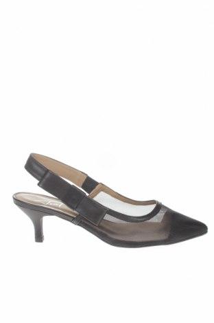 Дамски обувки Toral, Размер 39, Цвят Черен, Текстил, естествена кожа, Цена 62,37лв.