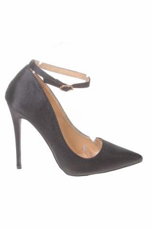 Дамски обувки True Decadence, Размер 37, Цвят Черен, Текстил, Цена 47,25лв.