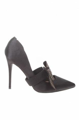 Γυναικεία παπούτσια True Decadence, Μέγεθος 40, Χρώμα Μαύρο, Κλωστοϋφαντουργικά προϊόντα, Τιμή 22,41€