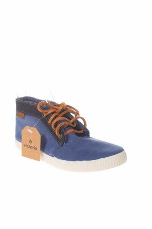 Γυναικεία παπούτσια Victoria, Μέγεθος 37, Χρώμα Μπλέ, Κλωστοϋφαντουργικά προϊόντα, Τιμή 8,95€