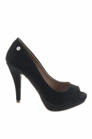 Дамски обувки Xti, Размер 36, Цвят Черен, Текстил, Цена 39,50лв.