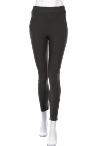 Дамски панталон, Размер M, Цвят Зелен, 67% памук, 31% полиестер, 2% еластан, Цена 7,06лв.