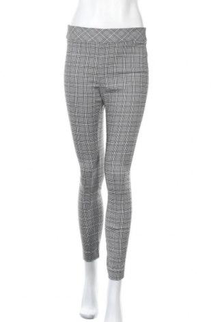 Дамски панталон, Размер M, Цвят Черен, 49% полиестер, 37% вискоза, 10% полиамид, 4% еластан, Цена 23,94лв.