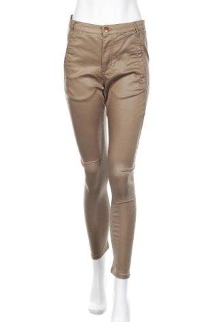 Дамски панталон, Размер S, Цвят Зелен, 65% памук, 32% полиестер, 3% еластан, Цена 10,08лв.