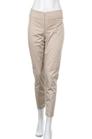 Дамски панталон, Размер L, Цвят Бежов, 97% памук, 3% еластан, Цена 7,88лв.