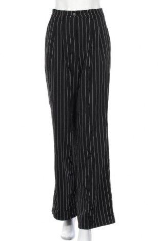 Дамски панталон, Размер M, Цвят Черен, 96% полиестер, 4% вискоза, Цена 7,92лв.