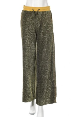 Дамски панталон, Размер M, Цвят Златист, Полиестер, Цена 24,94лв.