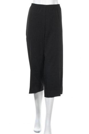 Дамски панталон, Размер XL, Цвят Черен, 96% полиестер, 4% еластан, Цена 6,56лв.