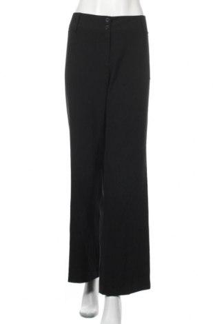 Γυναικείο παντελόνι Ab Studio, Μέγεθος L, Χρώμα Μαύρο, 63% πολυεστέρας, 33% βισκόζη, 4% ελαστάνη, Τιμή 18,19€