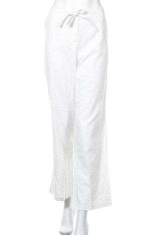 Γυναικείο παντελόνι Aniston, Μέγεθος L, Χρώμα Λευκό, 55% λινό, 45% βισκόζη, Τιμή 14,38€