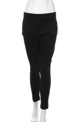 Дамски панталон Anne Klein, Размер M, Цвят Черен, 68% вискоза, 27% полиамид, 5% еластан, Цена 14,98лв.