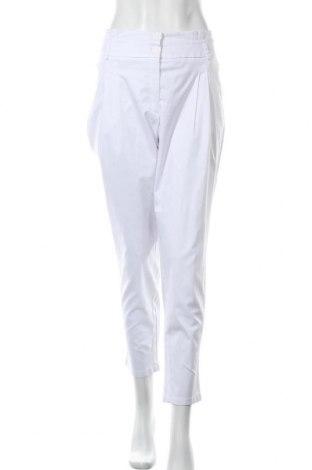 Дамски панталон Best Connections, Размер XL, Цвят Бял, 50% полиестер, 47% памук, 3% еластан, Цена 13,65лв.