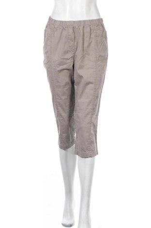 Дамски панталон Brandtex, Размер M, Цвят Кафяв, 98% памук, 2% еластан, Цена 6,56лв.