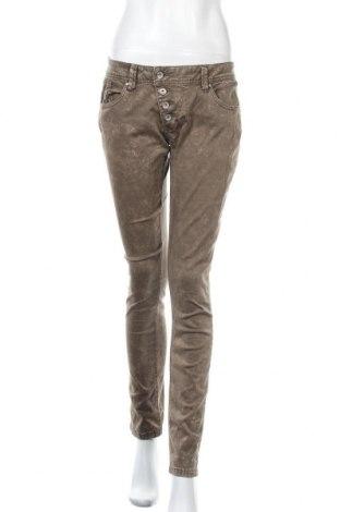 Дамски панталон Buena Vista, Размер M, Цвят Кафяв, 98% памук, 2% еластан, Цена 13,65лв.