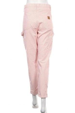 Дамски панталон Carhartt, Размер XL, Цвят Розов, Памук, Цена 30,42лв.