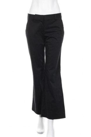 Дамски панталон DKNY, Размер S, Цвят Черен, 97% памук, 3% еластан, Цена 21,56лв.