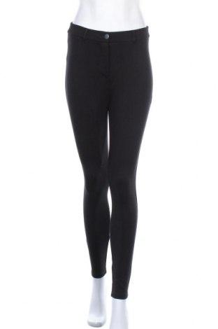 Дамски панталон Dorothy Perkins, Размер M, Цвят Черен, 69% вискоза, 27% полиамид, 4% еластан, Цена 21,39лв.