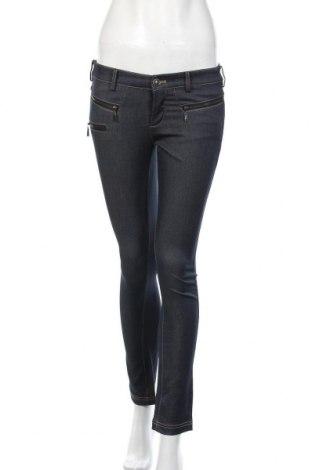 Дамски панталон Elle, Размер S, Цвят Син, Полиестер, Цена 8,51лв.
