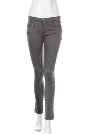 Дамски панталон Fishbone, Размер S, Цвят Сив, 62% памук, 34% полиестер, 4% еластан, Цена 8,82лв.