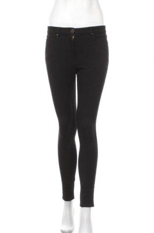 Дамски панталон H&M, Размер S, Цвят Черен, 56% вискоза, 40% памук, 4% еластан, Цена 12,13лв.