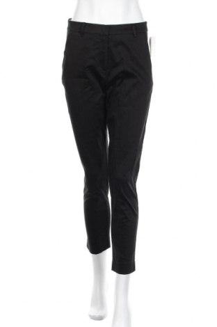 Дамски панталон H&M, Размер M, Цвят Черен, 98% памук, 2% еластан, Цена 13,76лв.
