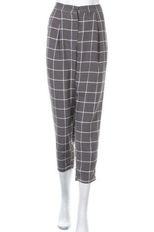 Дамски панталон H&M Divided, Размер XS, Цвят Сив, Полиестер, Цена 25,94лв.