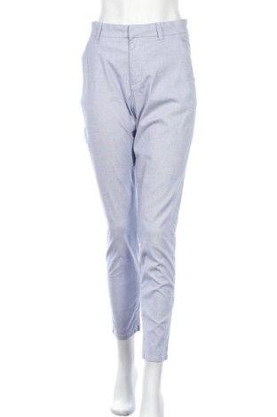 Дамски панталон H&M L.O.G.G., Размер M, Цвят Син, 97% памук, 3% еластан, Цена 24,94лв.
