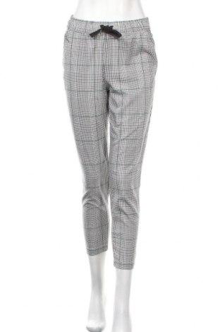 Дамски панталон H&M L.O.G.G., Размер XS, Цвят Бял, 66% полиестер, 32% вискоза, 2% еластан, Цена 22,05лв.