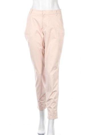 Дамски панталон H&M L.O.G.G., Размер L, Цвят Розов, 97% памук, 3% еластан, Цена 26,46лв.