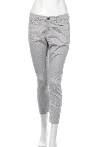 Дамски панталон H&M L.O.G.G., Размер M, Цвят Сив, 97% памук, 3% еластан, Цена 27,30лв.