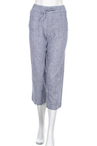 Дамски панталон H&M L.O.G.G., Размер XXS, Цвят Син, 55% лен, 45% памук, Цена 17,01лв.