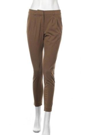 Γυναικείο παντελόνι Hallhuber, Μέγεθος S, Χρώμα Καφέ, 55% πολυεστέρας, 38% βισκόζη, 7% ελαστάνη, Τιμή 23,19€
