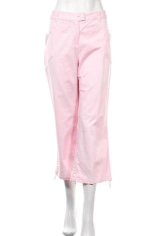 Γυναικείο παντελόνι Infinity, Μέγεθος XL, Χρώμα Ρόζ , 97% βαμβάκι, 3% ελαστάνη, Τιμή 13,17€