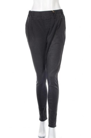 Дамски панталон Kaffe, Размер M, Цвят Сив, 75% памук, 24% полиестер, 1% еластан, Цена 33,60лв.